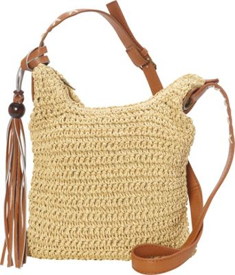 Sun 'N' Sand Nina Crossbody Natural - Sun 'N' Sand Fabric Handbags