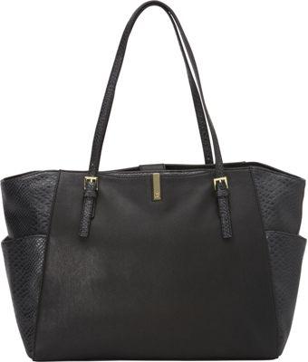 Tutilo Veritas Dome Tote Black - Tutilo Manmade Handbags