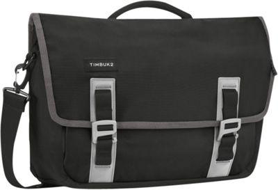 Timbuk2 Command TSA-Friendly Laptop Messenger - Small Black/Gunmetal - Timbuk2 Laptop Messenger Bags