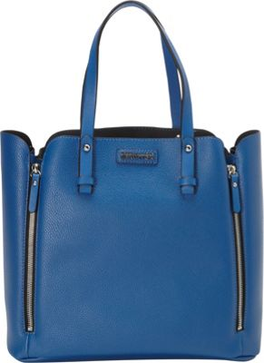Kenneth Cole Reaction Wallets Hardcore Tote Delft Blue - Kenneth Cole Reaction Wallets Manmade Handbags