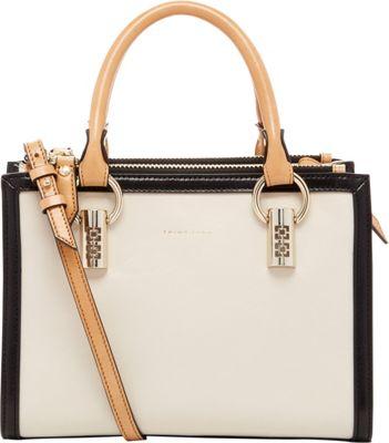 Trina Turk Cabana Small Satchel Bone - Trina Turk Designer Handbags