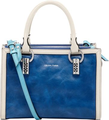 Trina Turk Cabana Small Satchel Twilight - Trina Turk Designer Handbags
