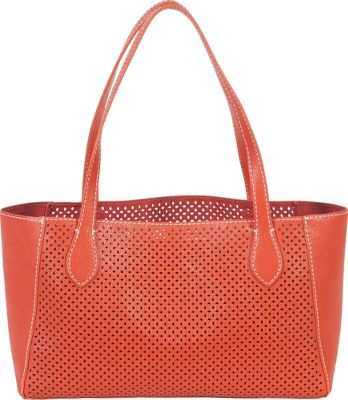 BUCO Small Diamond Tote Orange/Orange - BUCO Manmade Handbags