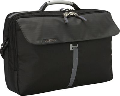 OGIO Circuit Top Zip Messenger Black - OGIO Messenger Bags