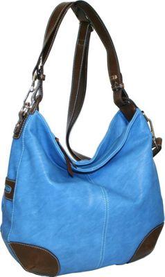 Punto Uno Hannah's Big Hobo Denim - Punto Uno Manmade Handbags