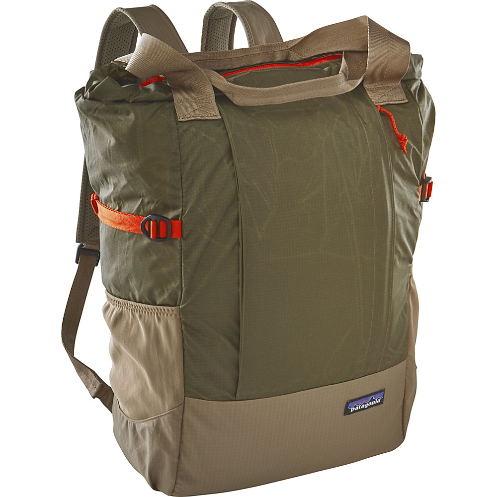 Patagonia Lightweight Travel Tote Pack Fatigue Green - Patagonia Everyday Backpacks