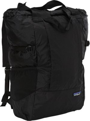 Patagonia Lightweight Travel Tote Pack Black - Patagonia Day Hiking Backpacks