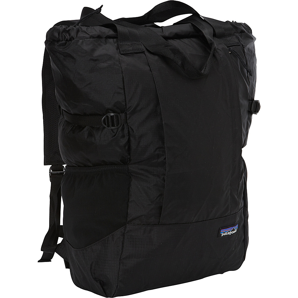 Patagonia Lightweight Travel Tote Pack Black - Patagonia Everyday Backpacks