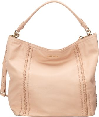 Cole Haan Nickson Double Strap Hobo Canyon Rose - Cole Haan Designer Handbags
