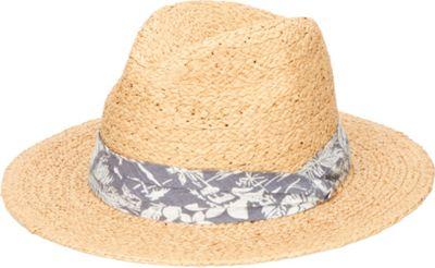 San Diego Hat Straw Panama Fedora With Palm Leaf Band