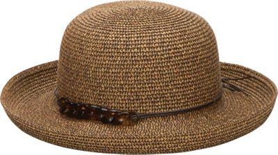 San Diego Hat Kettle Brim Hat With Tortoise Shell Chain