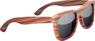 Earth Wood Delray Sunglasses Silver - Earth Wood Sunglasses