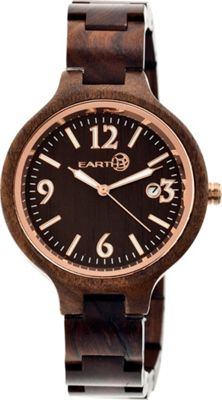 Earth Wood Nodal Watch Espresso - Earth Wood Watches
