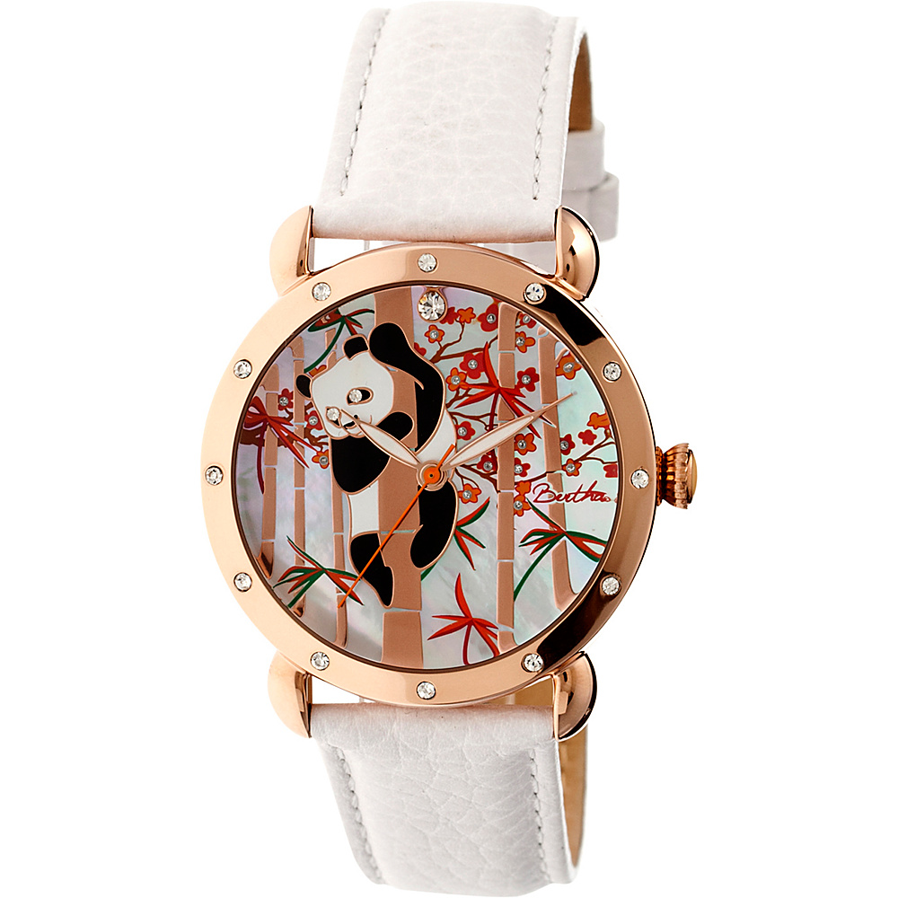 Bertha Watches Lilly Leather Watch White Bertha Watches Watches