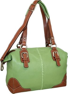 Nino Bossi Soho Satchel Leaf - Nino Bossi Leather Handbags