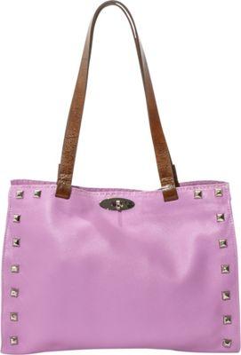 Carla Mancini Lindsay Shoulder Bag Lilac - Carla Mancini Designer Handbags