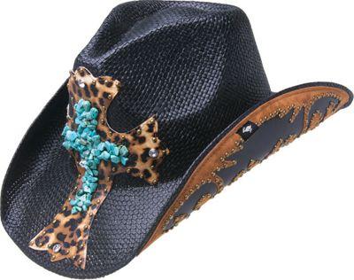 Peter Grimm Zeke Drifter Hat One Size - Black - Peter Grimm Hats/Gloves/Scarves
