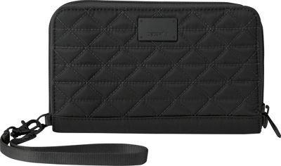 Pacsafe RFIDsafe W200 Black - Pacsafe Ladies Small Wallets