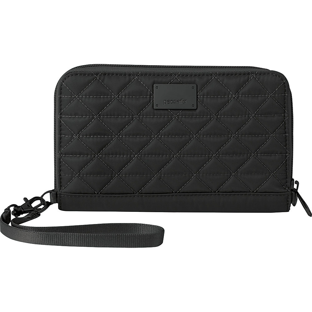 Pacsafe RFIDsafe W200 Black Pacsafe Women s Wallets