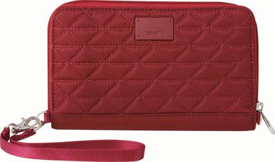 Pacsafe RFIDsafe W200 Cranberry - Pacsafe Women's Wallets