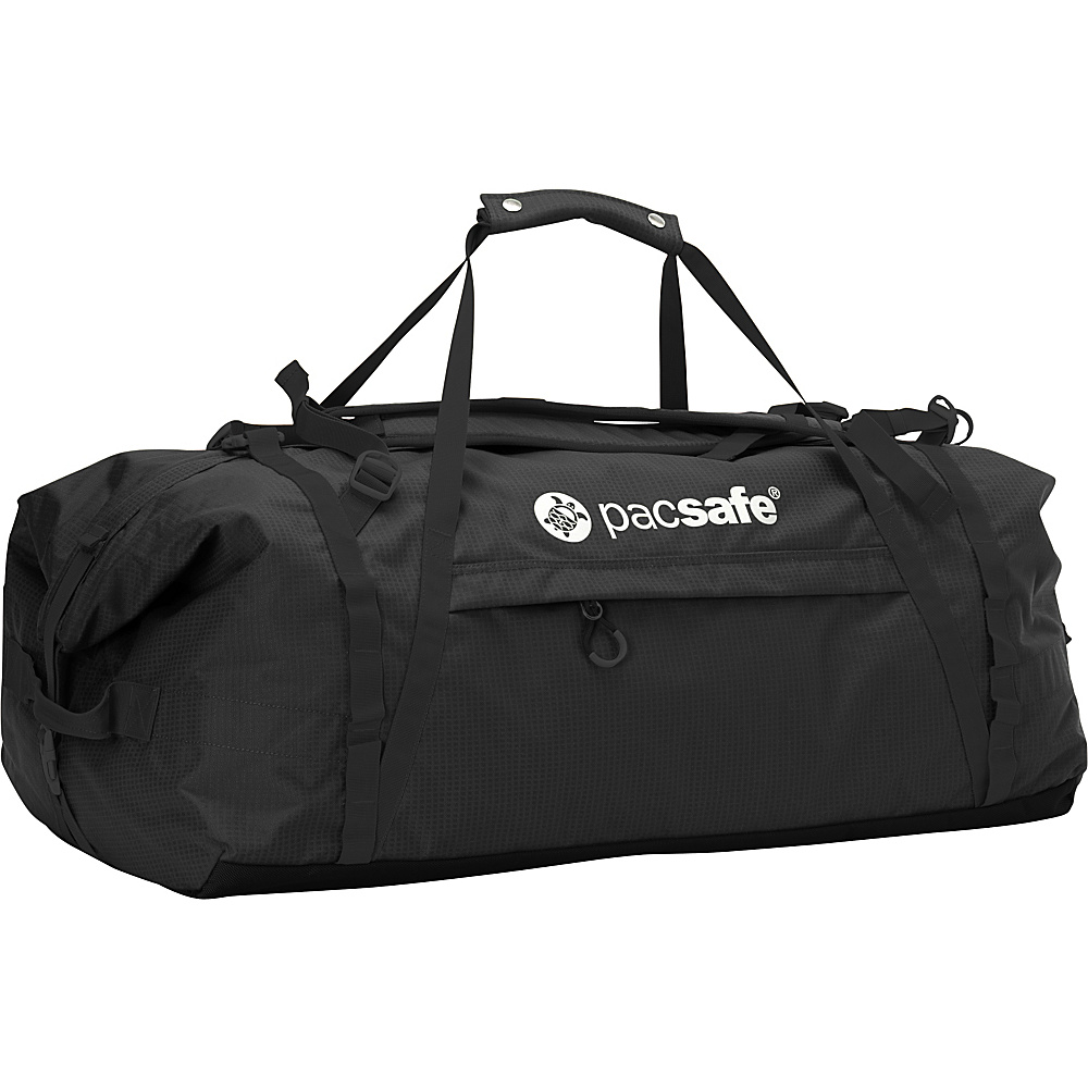 Pacsafe Duffelsafe AT100 Black Pacsafe Rolling Duffels