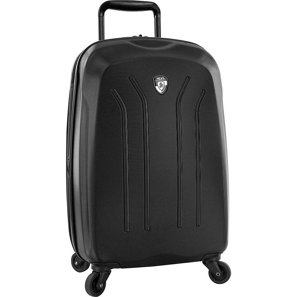 Heys America Lightweight Pro 21 Carry On Spinner Luggage Black Heys America Hardside Carry On