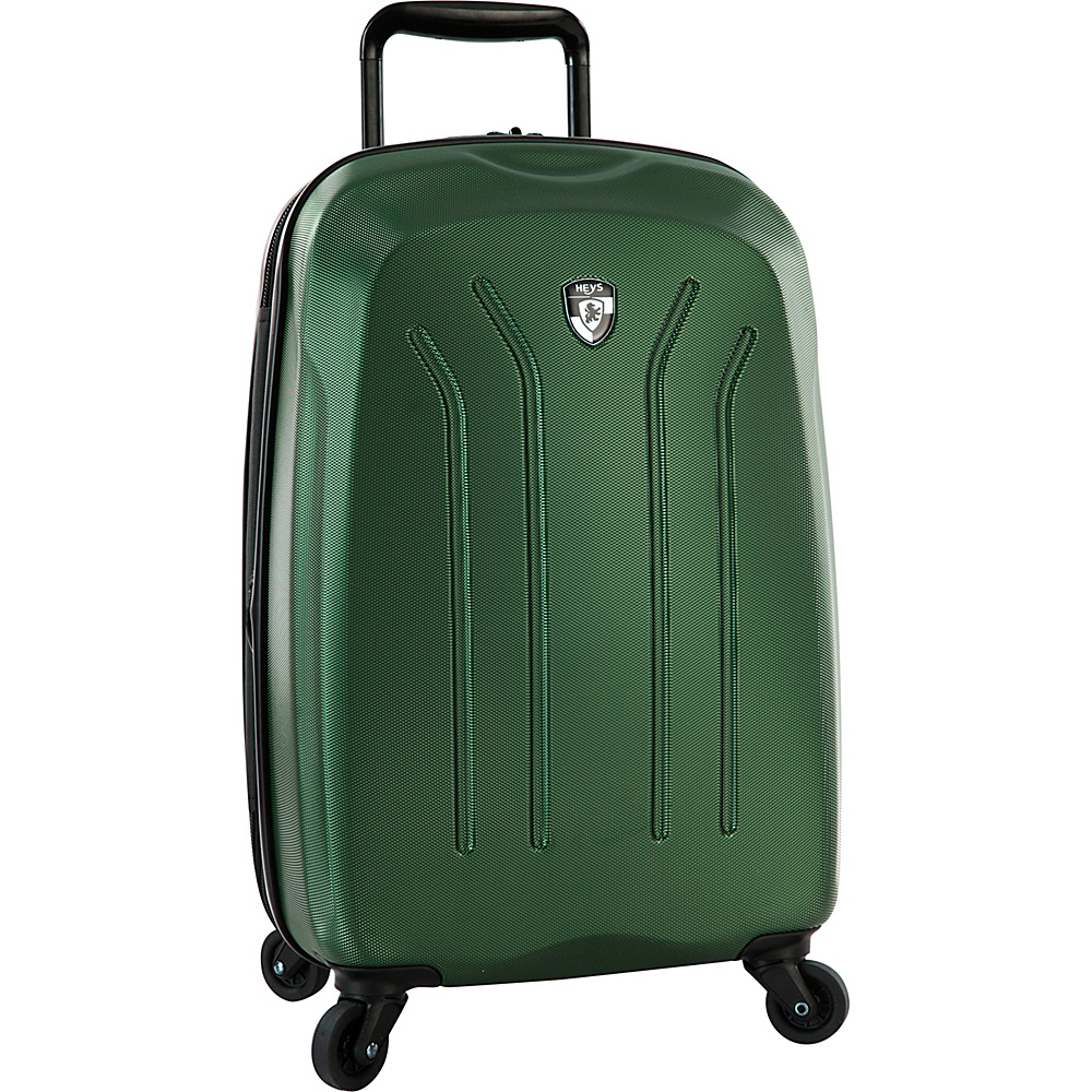 Heys America Lightweight Pro 21 Carry On Spinner Luggage Green Heys America Hardside Carry On