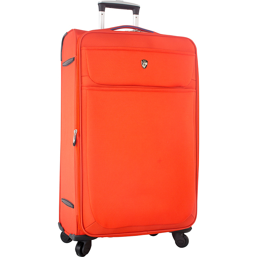 Heys America Argus 30 Spinner Luggage Orange Heys America Softside Checked
