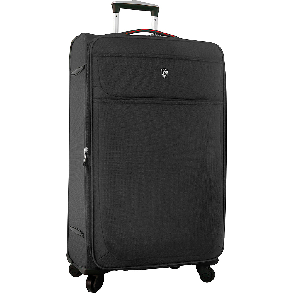 Heys America Argus 30 Spinner Luggage Black Heys America Softside Checked