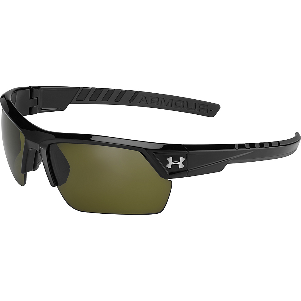 Under Armour Eyewear Igniter 2.0 Sunglasses Satin Black Game Day Under Armour Eyewear Sunglasses