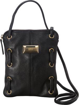 Latico Leathers Berne Crossbody Pebble Black - Latico Leathers Leather Handbags