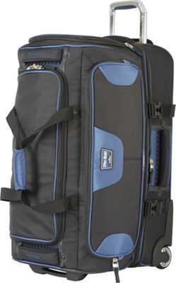 Travelpro T-Pro Bold 2.0 26 inch Rolling Duffle Black & Blue - Travelpro Softside Checked