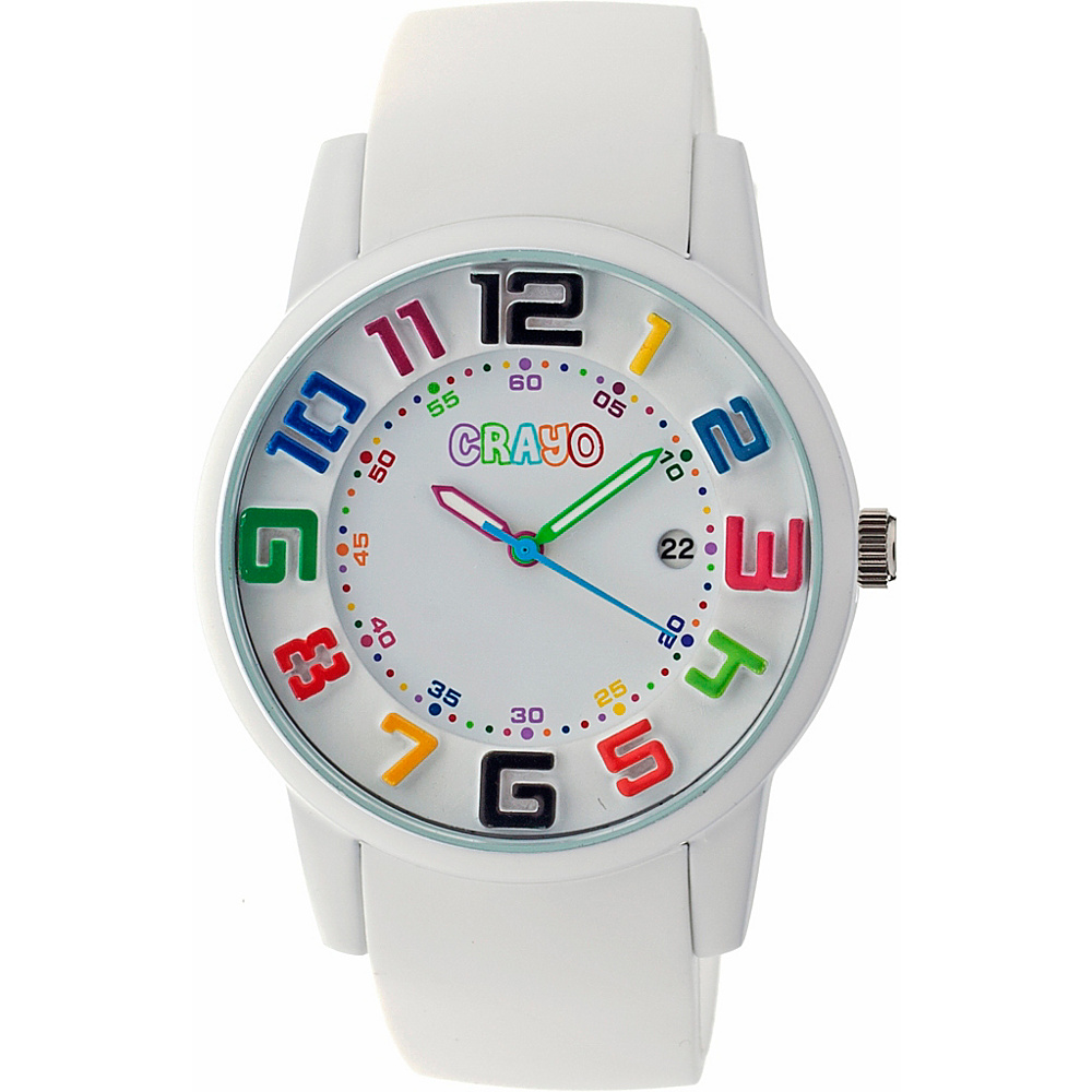 Crayo Festival Watch White Crayo Watches
