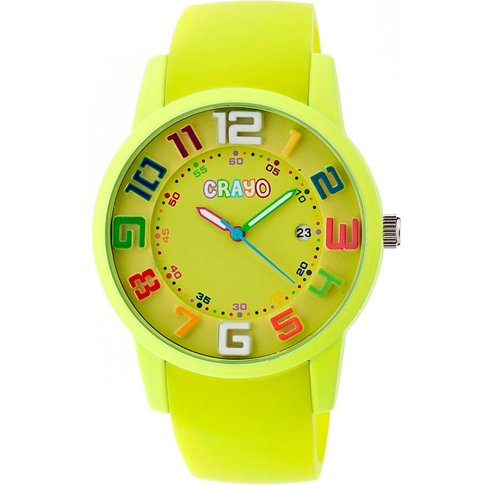 Crayo Festival Watch Yellow Crayo Watches