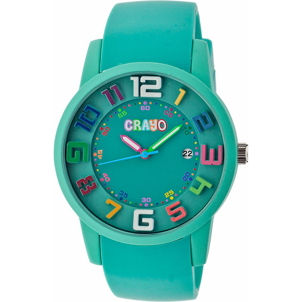 Crayo Festival Watch Teal Crayo Watches
