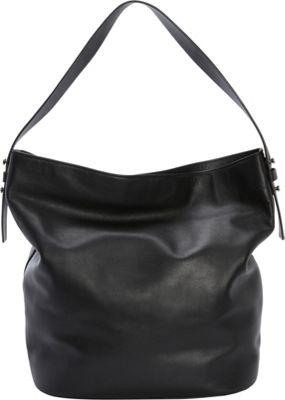 Skagen Karyn Women's Bucket Bag Black - Skagen Leather Handbags