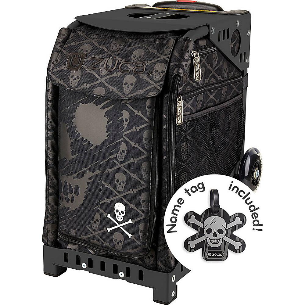 ZUCA Sport Unit Skulls Bag Black Frame Black Frame and Black Insert ZUCA Softside Checked