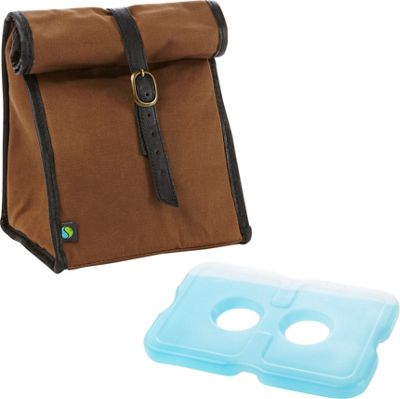 Fit & Fresh Classic Insulated Lunch Bag Dark Brown - Fit & Fresh Travel Coolers