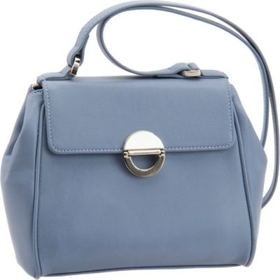 Image of Baggs Alyssa Shoulder Bag Sky - Baggs Leather Handbags