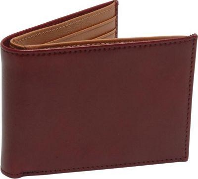 TUSK LTD Brando Slim Billfold Oxblood - TUSK LTD Men's Wallets
