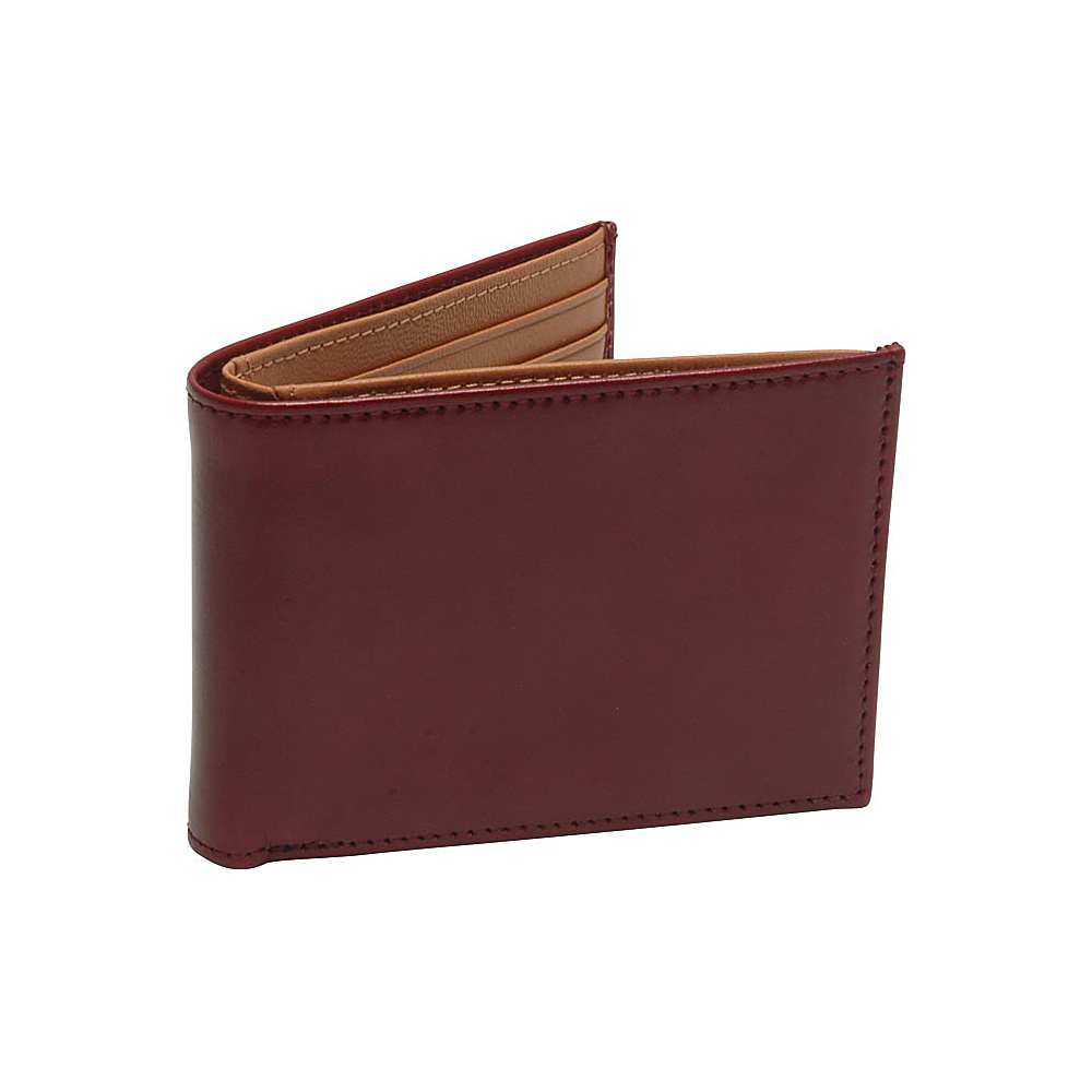 TUSK LTD Brando Slim Billfold Oxblood TUSK LTD Men s Wallets