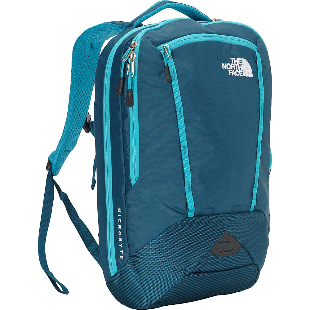 The North Face Womens Microbyte Laptop Backpack Blue Coral/Bluebird - The North Face Business & Laptop Backpacks - Backpacks, Business & Laptop Backpacks