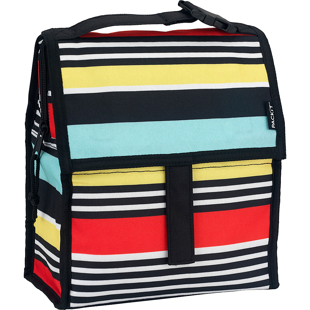 PackIt Lunch Bag Surf Stripe - PackIt Travel Coolers