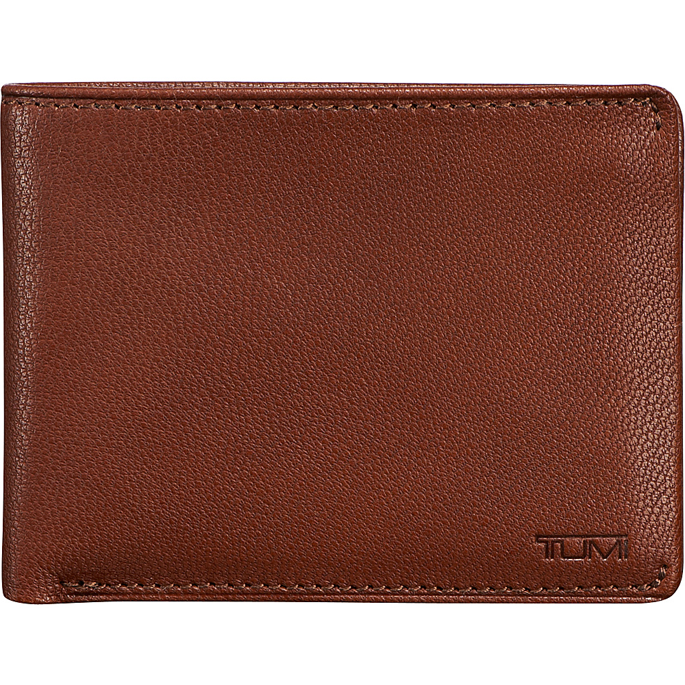 Tumi Chambers Double Billfold With ID Teak Tumi Men s Wallets