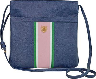 Sloane Ranger Chelsea Crossbody Bag Navy Stripe - Sloane Ranger Manmade Handbags