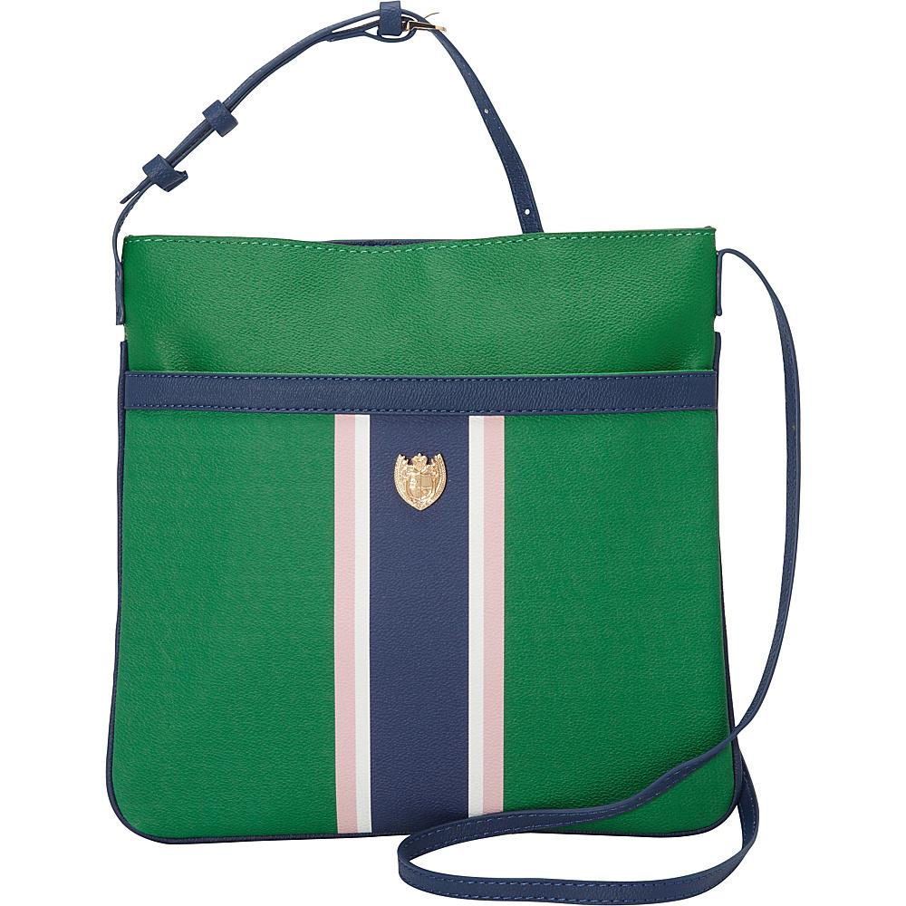 Sloane Ranger Chelsea Crossbody Bag Greene Stripe Sloane Ranger Manmade Handbags