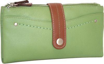 Nino Bossi My Double Zip Wallet Leaf - Nino Bossi Designer Handbags
