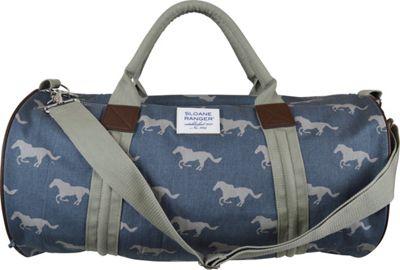 Sloane Ranger Duffle Bag Grey Horse - Sloane Ranger Softside Carry-On