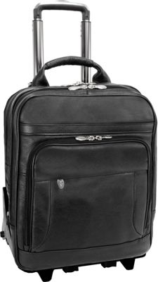 McKlein USA McKlein USA Wicker Park Rolling Business Case Black - McKlein USA Wheeled Business Cases