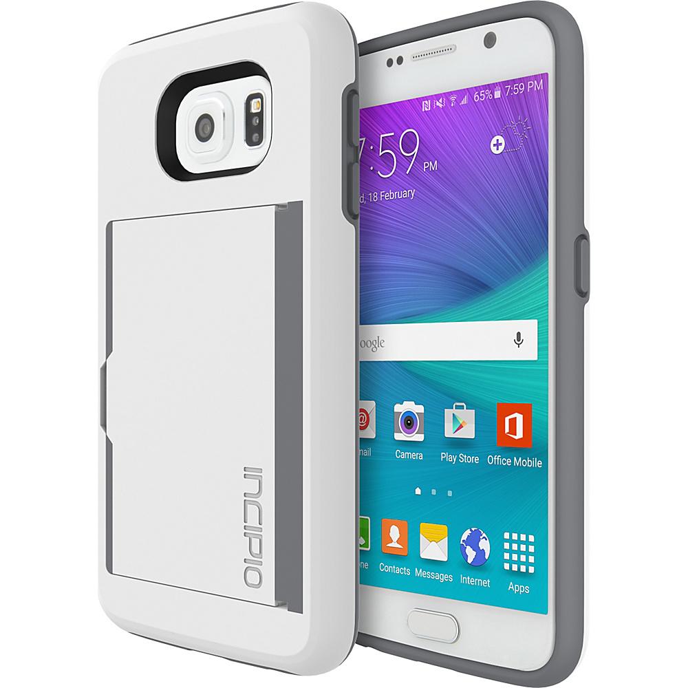 Incipio STOWAWAY for Samsung Galaxy S6 White/Smoke - Incipio